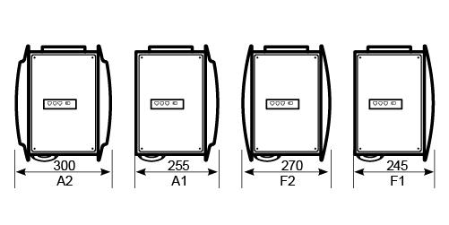 Дизайнерские воздушные завесы C-серия